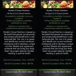 Online Nutrition Consultation Via Zoom