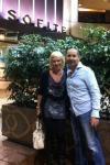 Natalia with Nik Halik - 1st civilian astronaut from Australia.