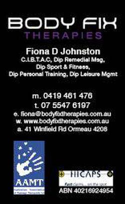 Body Fix Therapies