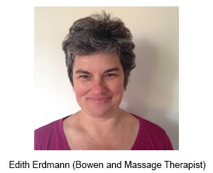 Edith Erdmann - Hypnotherapist/Counselor/Bowen Therapist