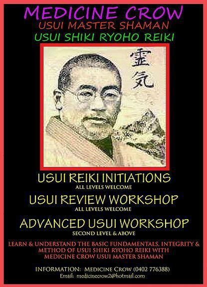 Usui Shiki Ryoho Reiki - Initiations, Review, Advanced