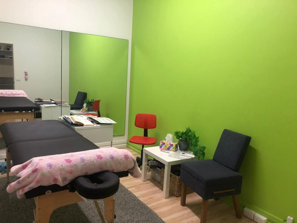 A calm and peaceful therapy space
