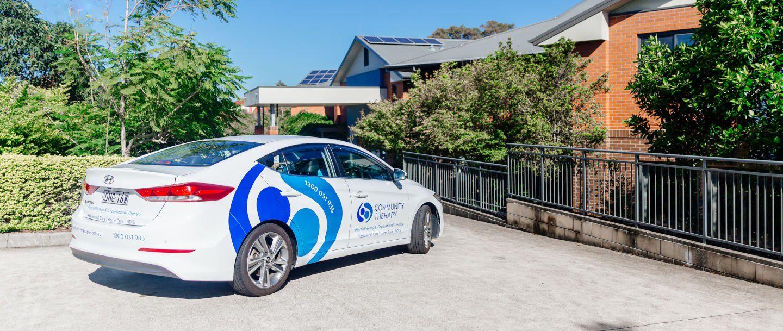 Community Therapy Car Providing a Mobile Service
