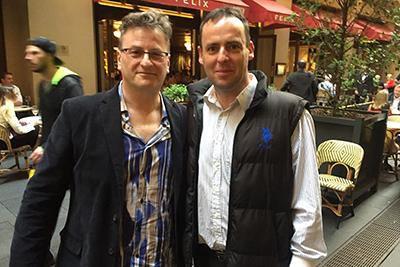 Paul and Patrick McKeown, Sydney 2016