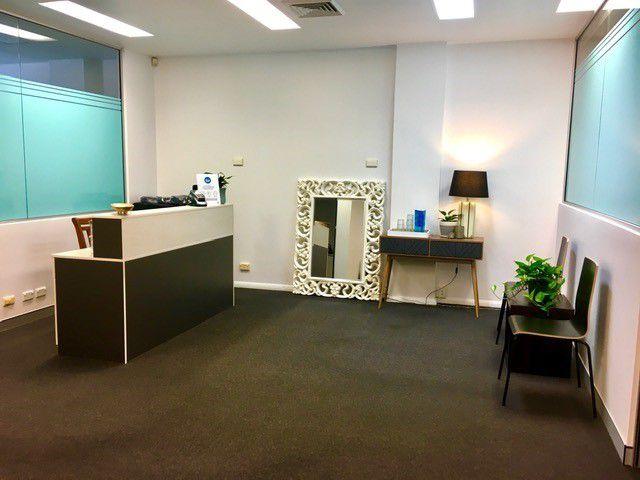 Waiting Room & Reception Desk