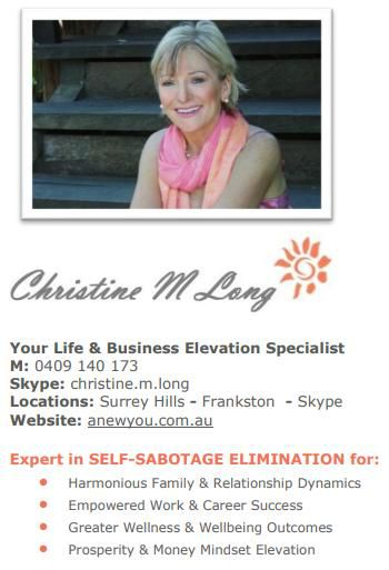 Life & Business Elevation Specialist