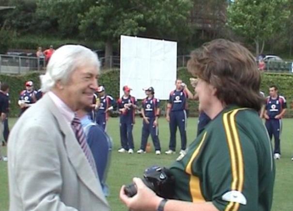 Organising the Inaugural Australian Blind Ashes, 2008