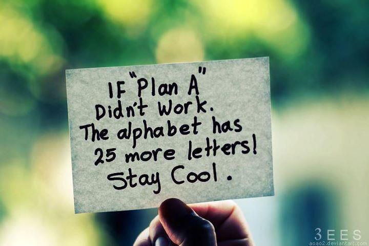 There are always more options than just 'plan A'.  I can help you find new ways of thinking and perceiving.