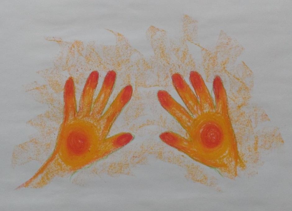 Energised hands