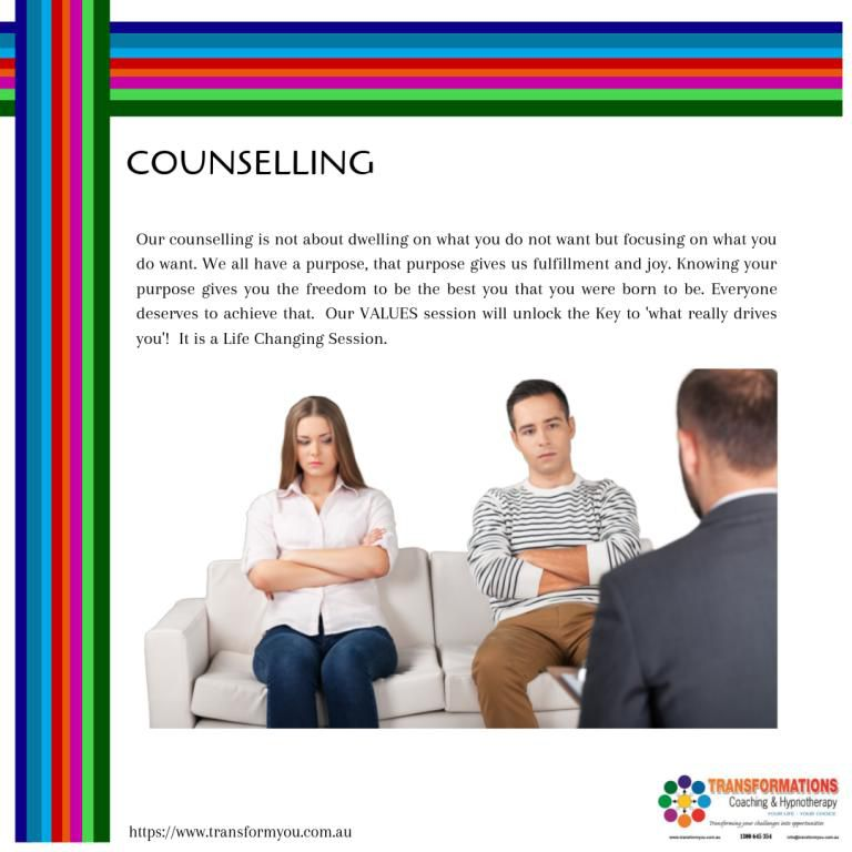 Counseling.  If life is overwhelming and you need to talk, please give us a call!