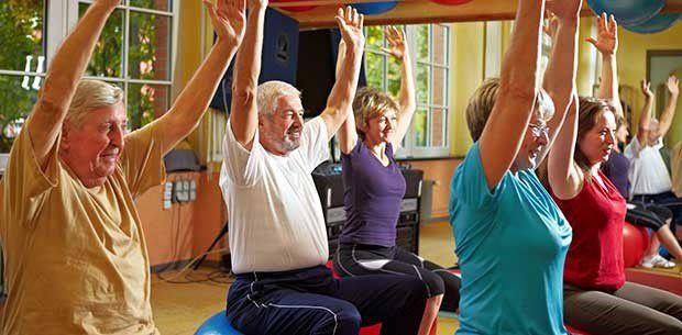 Chair Pilates Wednesdays 11am