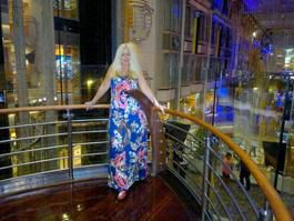 Relaxing on The Voyager of the Seas