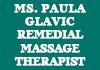Ms. Paula Glavic Remedial Massage Therapist
