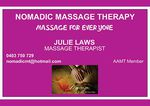 Nomadic Massage Therapy