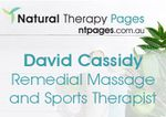 David Cassidy Remedial Massage and Sports Therapist @ Henley Beach Chiropractic Clinic
