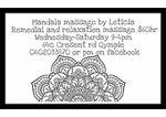 Mandala Massage by Leticia