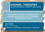 Channel Therapies - Bowen