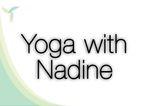 Yoga with Nadine