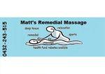 Matt's Remedial Massage