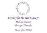 Serenity for the Soul Massage