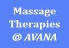 Massage Therapies @ AVANA