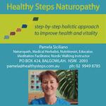 Pamela Siciliano @ Healthy Steps Naturopathy