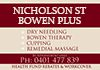 Nicholson St Remedial Massage - Bowen Therapy