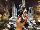Amazing kyanite! Balances all the chakras & never requires cleaning.