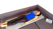 PEMF treatments consist of lying a  full body mat while natural magnetic waves flow through you to energise the body