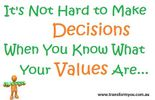 Your Values are Driving You... Discover how to Master Your Destiny and discover what it is that you truly want.