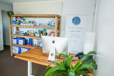Quay Osteo - warm, relaxed and friendly atmosphere