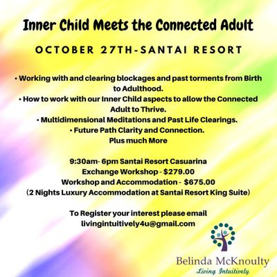 Inner Child Meets the Connected Adult - October