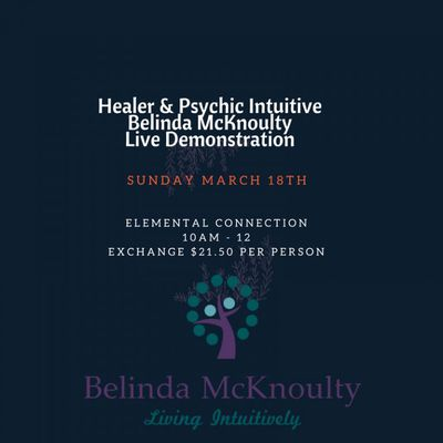 Healing & Psychic Intuitive Live Demonstration