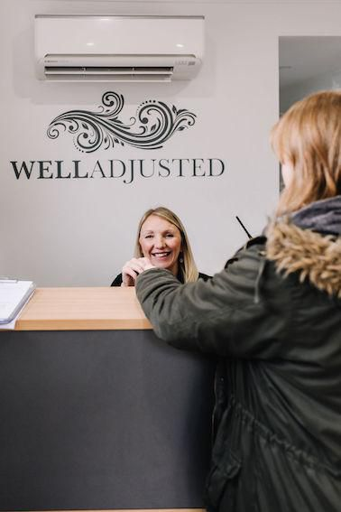 The Well Adjusted reception - a warm welcome awaits you