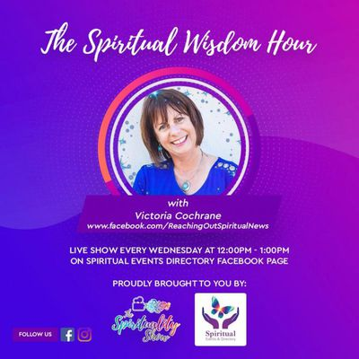 Tune into Spiritual Events Directory's Facebook Page every Wednesday at 12 noon for insights and advice on psychic and spiritual development.