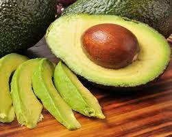 Avocado-good fats, high in fibre and Potassium