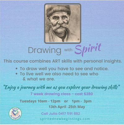 Drawing with Spirit