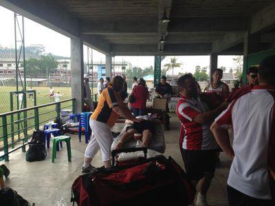 Volunteer work, International Cricket Sixes, Phuket, 2014