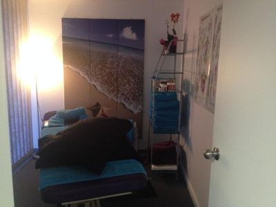 An IC Sports Therapies treatment room
