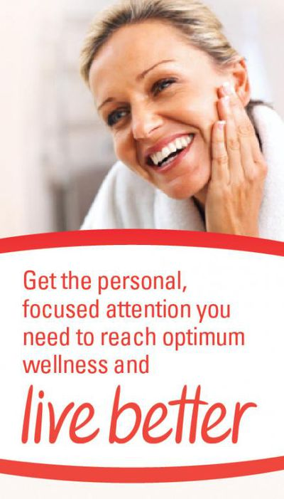 Get the personal attention you need to reach optimum wellness