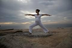 Yoga practice in pregancy bulids a strong body and healthy mind.