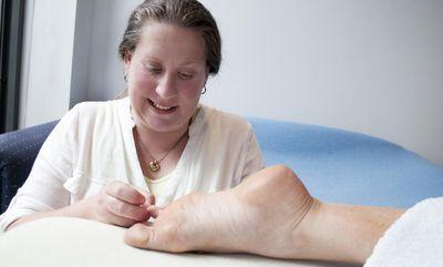 Foot Acupressure massage