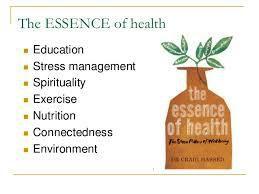 Essence of Health Program