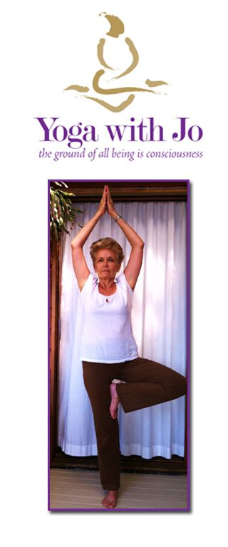 Join Jo to achieve extra balance, harmony and a sense of wellbeing.