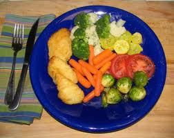 Eat off a BLUE Plate - You will eat less!